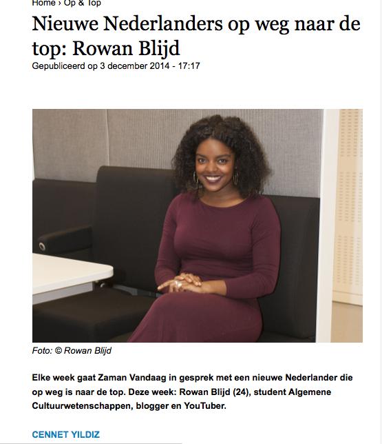 Rowan Blijd Blog