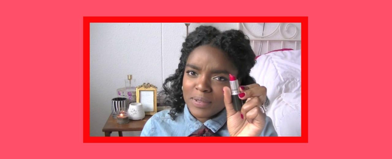 de perfecte rode lippen