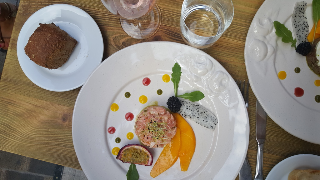 Zalm in Cannes